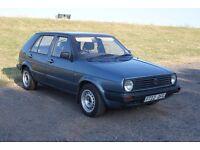 VW Golf MK2 1.3 petrol 5DR 1989