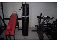 5 Foot Masta Punch Bag with Hanging Chains *LIKE NEW* MMA UFC BOXING GYM
