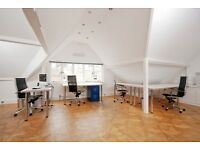 Air-conditioned desk space in friendly graphic design studio in picturesque Thames Ditton