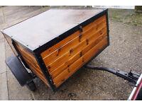 Car trailer. Camping / general use