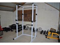 Brand New Power Cage Squat Rack - WIth Dipping Handles & Pull Up Bar - Weights Gym