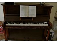 Second hand Hopkinson's mahogany piano