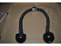 Brand New Tricep Rope Pulley Attachment (weights gym)