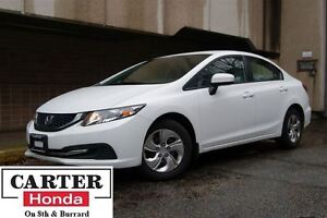 2014 Honda Civic LX + LOW KMS! + YEAR-END CLEAROUT!!