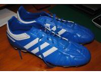 Adidas Puntero VII TRX FG Male UK Size 12 Blue Football Boots New