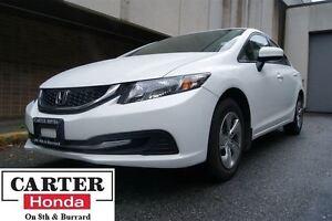 2014 Honda Civic LX + LOW KMS + CERTIFIED WARRANTY 7YR/160000KMS