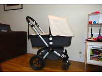 EXCELLENT CONDITION Bugaboo 2 Chameleon charcoal/cream £200 (plus optional extras to purchase)