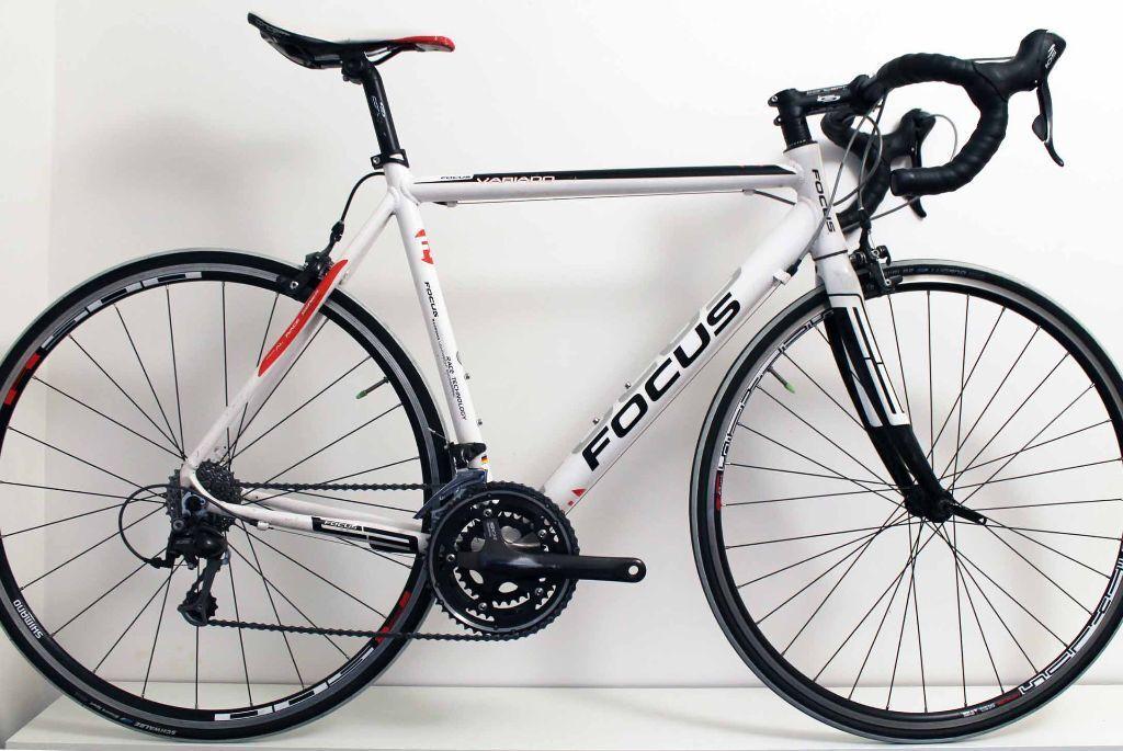 9 6kg 56cm Focus Variado Road Racing Bike Carbon Forks Shimano 105