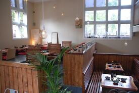 Looking for Japanese cuisine experienced chef and kitchen porter