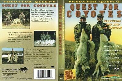 Quest for Coyotes Hunting Predators Jeff and Les Johnson DVD NEW