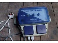 SMSCom 4.5 Amp Speed Temp Controller for grow room