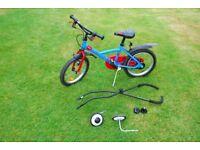 B'Twin kids bike - 16 inch wheels