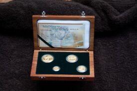 2002 Natura Prestige Gold coin Set