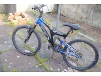 bike VERTIGO ROCKFACE BIKE TEENAGER AGE 10+ CYCLE BICYCLE some rust