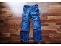 """30"""" Mish Mash Regular Length Jeans - Dark Denim Blue"""