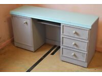 Desk with draws