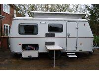December 2014 Hymer Eriba Troll 550 Touring Caravan 4 Berth