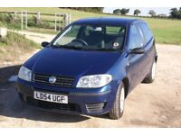 Fiat Punto Active, 54 plate, 12 months MOT. Full Service History, 91250 miles