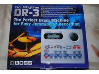 Dr. Rhythm drum machine. As new