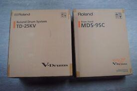 Roland TD-25KV V-Drums Set with MDS-9SC Stand £2150