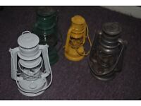 PARAFFIN OIL HURRICANE LAMP