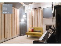 Amazing new recording studio / music production room / mixing room. Vintage mics & analoque Hardware