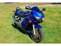 suzuki sv 650 matalic blue full fearing