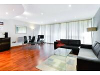 Spacious 2 bed duplex available in Canary Wharf development Block Wharf E14, close to South Quay