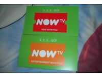 NOW TV 3 Months Entertainment Pass. Genuine..