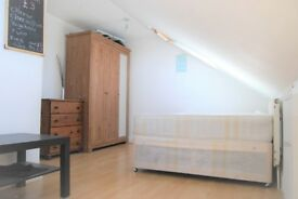 Bright Loft Double Bedroom In A Shared Flat, Acton W3