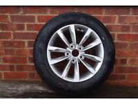 """TYRE & 16"""" ALLOY WHEEL FOR 2015 HYUNDAI i40, IMMACULATE, TOTALLY UNUSED, BOUGHT AS SPARE"""