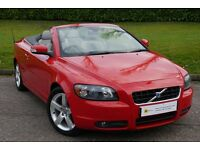 TIN TOP CONVERTIBLE**(08)Volvo C70 2.0 D Sport 2dr *****10 STAMPS**12 MONTH WARRANTY***FINANCE