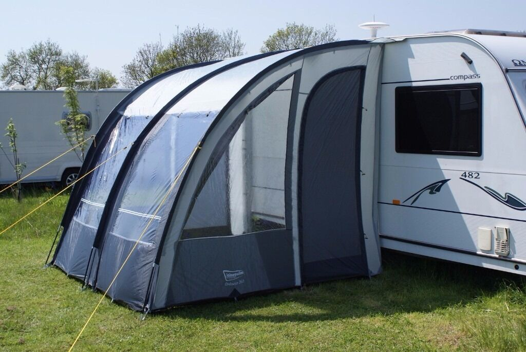 Leisurewize Ontario 260 Lightweight Caravan Porch Awning In Blyth