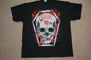 BULLET-FOR-MY-VALENTINE-SKULL-KISS-T-SHIRT-XL-NEW-OFFICIAL-BFMV-FEVER-POISON