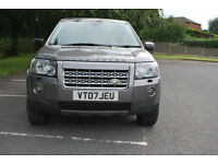 LANDROVER FREELANDER 2 HSE TD4 2007 (07reg) Manual.