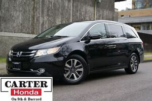 2015 Honda Odyssey Touring + LOCAL + NO ACCIDENTS + CERTIFIED