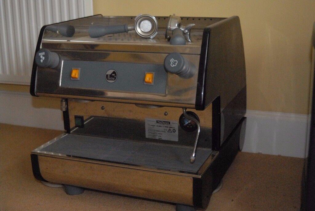 La Pavoni PUB2M professional 2 Group BARISTA Espresso Latte Coffee machine