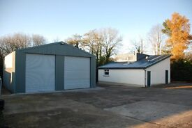 For sale or to let: Commercial property in Lisburn area, close to J9 of M1and Inter Airport.