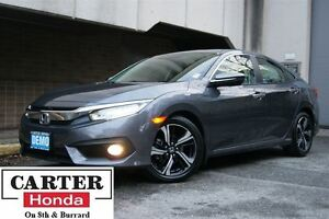2016 Honda Civic Touring NAVI + LEATHER + MUST GO!!
