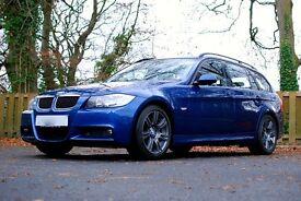Lovely M Sport BMW Touring, Full Service History, Only 2 Keepers, 2 Keys, New Mot, Alcantara Seats