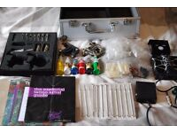 Tattoo Kit. 2 Machines. Everything included; inks, needles, grips, ect. Used only a few times.