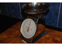Sabichi Traditional All Chrome Kitchen Scales