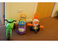 Baby Walkers/ Big Vehicles Most Battery Operated Among Others £25