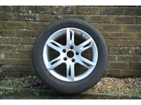 4x Michelin Alpin Winter Tyres & SEAT alloys, VW Golf 5/6, Touran, Leon 2/3, Octavia 2FL, Octavia3..