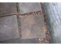 33 paving slabs