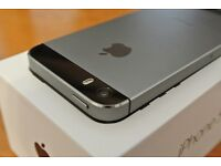 iPhone 5s 16Gb Unlocked Space Grey Mint (as new)