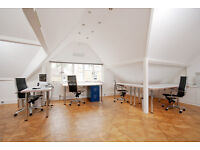 Air-conditioned desk space in Thames Ditton design studio