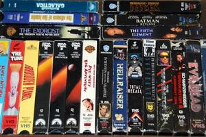 Various VHS for Sale!
