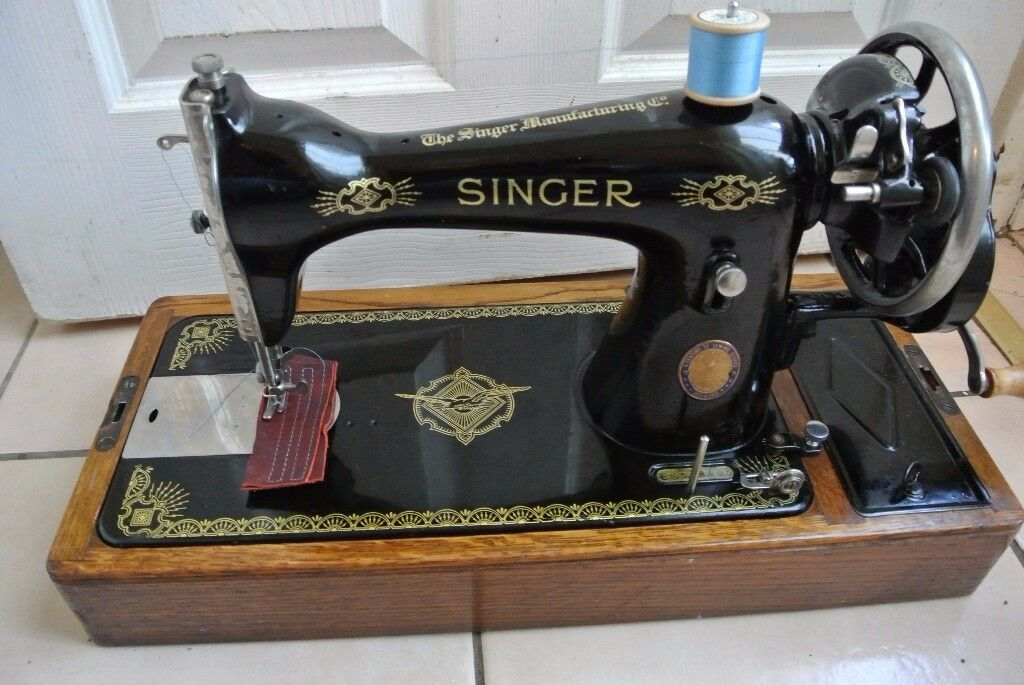 Singer Handcrank Sewing Machine Model 40K For Thick And Thin Inspiration Singer Hand Crank Sewing Machine