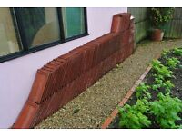 225 good quality second-hand roofing tiles plus about 8 same but slightly chipped.